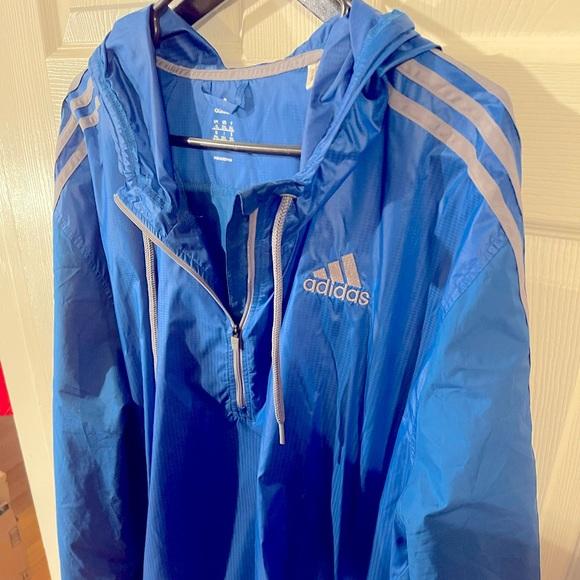 Adidas Climacool XXL Zip Hoodie Windbreaker Jacket